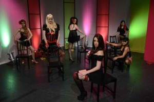 Burlesque students on The Couch - Foxtel