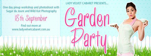 Garden Party Lady Velvet Cabaret