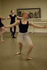 Ballet Technique Class In Granada Spain