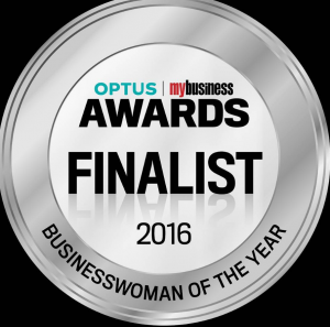 Optus MyBusiness Businesswoman of the Year Finalist