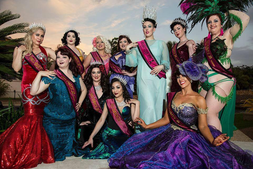 Miss Burlesque Australia Contestants 2016