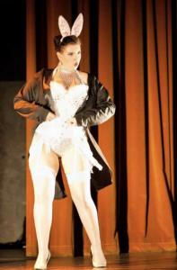 Sugar du Joure at Miss Burlesque WA competition 2012