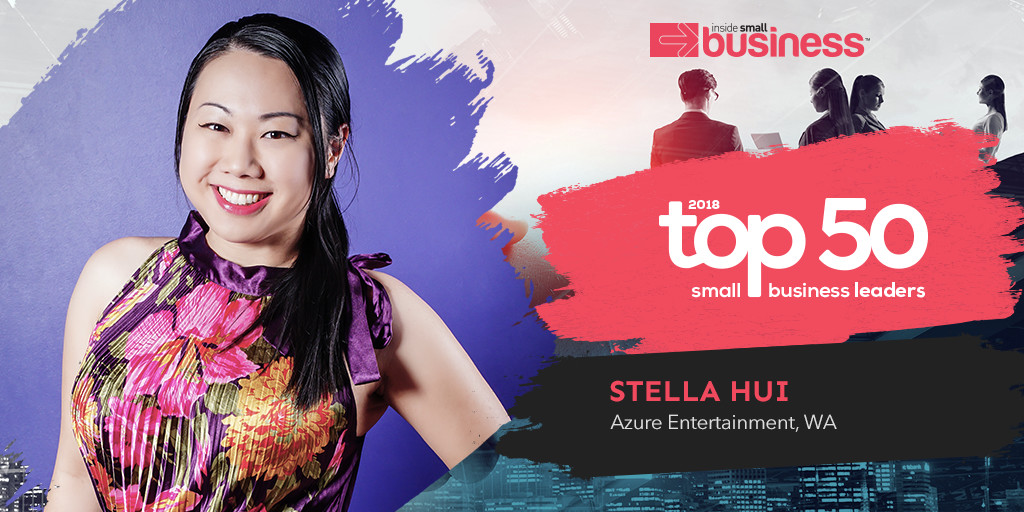Stella Hui featured in Inside Small Business Top50 ranking 2018