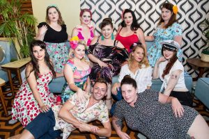 LVC Group Pinup Photo by Claire Alexander.